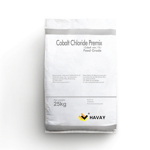 Cobalt Chloride mixed feed additives